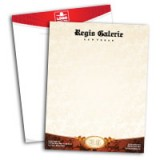 "8.5"" x 11"" Linen Letterhead Upgrade to double sided"