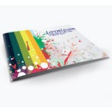 "8"" x 9"" Booklets Heavy Weight Paper UV Extra Glossy Finish - 4 Page"