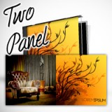 "4.75"" X 9.5"" Two Panel CD Cover Heavy Weight Paper Glossy Finish"
