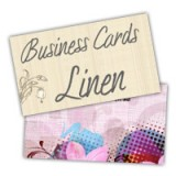 "2"" x 3.5"" Linen Business Cards"