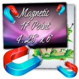 "4.25"" X 6"" 17PT Indoor Magnet Glossy Finish"