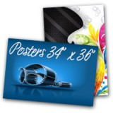 "24"" x 36"" Posters 100Lb Heavy Weight Paper Glossy Finish"