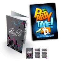 "8.5"" x 11"" Brochures / Flyers Heavy Weight Paper Glossy Finish"