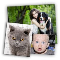 "8"" X 12"" Laminated Puzzle, 50 pieces"
